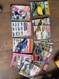 Revistas sobre carros- $50 hoje!