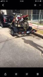 Carretinha para 3 motos