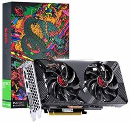 Placa De Video Nvidia Geforce Gtx 1660 Oc Dual-Fan Nota Fiscal e 3 anos de Garantia