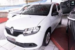 Título do anúncio: Renault Sandero 1.0 Flex Apenas 62mil Km - Aceito Troca