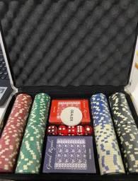 Maleta poker, nunca usada!