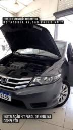 Honda Civic Instalação Kit Milha Vem Para a Melhor