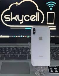 IPhone X 64Gb Silver semi novo