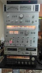 Amplificador e Tuner Polyvox