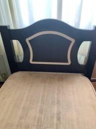 Cama solteiro com cama auxiliar e 2 colchões