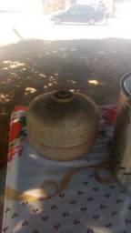Fritadeira a gás 3,5 L nova mais botijão 3,5 kL cheio