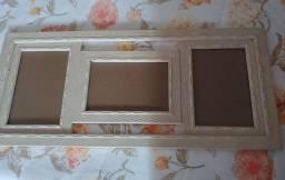 Vendo porta retrato de parede novo