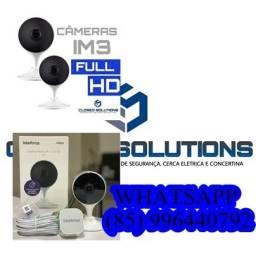 Câmeras de Segurança Kit 2 câmeras IM3 intelbras a partir de 950,00