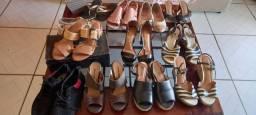 Sandálias ? vários modelos usadas