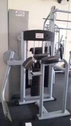 Máquina vertical glúteos profissional