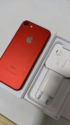 iPhone 7 256gb RED Seminovo