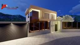 Casa de lote inteiro, 04 suítes em construção no bairro Lagoa Santa