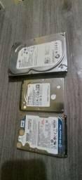3 HDs pra vender logo!