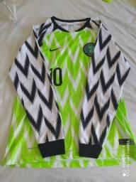 Camisa Manga Longa Nigéria I 2018/2019 Masculina