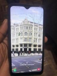 Galaxy A10 tela trincada aceito cartão