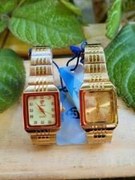 Relógio Feminino Liebig Original Aço Inoxidável