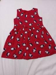 Lindo vestido tip top em tecido TAM 4 anos