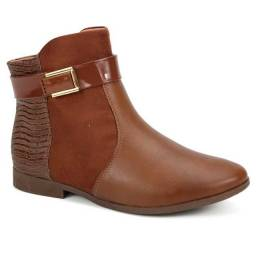 Bota Ankle Boot Feminina Comfortflex 1949302