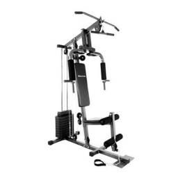 Estação De Ginastica Houston Home Gym / 36 Exercícios