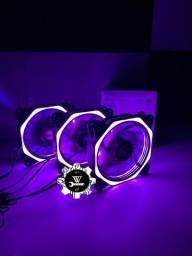 Kit 3 Cooler FAN Rise Mode Aura 120mm Led