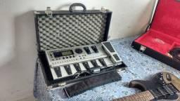 Guitarra Tagima mais  pedaleira GT 10 ambos no case