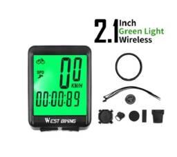 Velocímetro West Biking S/fio 2.1? Resistente Água Wireless (12 funções)