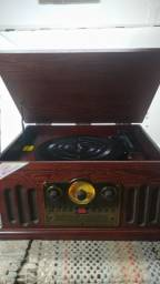 Vitrola Retrô Ctx - 4X1