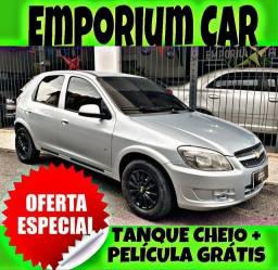 TANQUE CHEIO SO NA EMPORIUM CAR!!! CELTA LT 1.0 ANO 2012 COM MIL DE ENTRADA