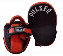 Manopla de foco longa modelo Tailandês para pratica de artes marciais - Pulser