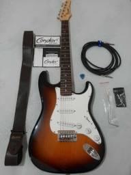 Guitarra Condor RX10 +capa, cabos e acessórios. Aceito ofertas e troco por xbox