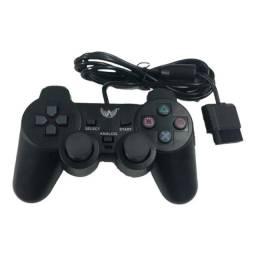 Controle Manete Playstation 2 E PS1 Dualshock