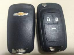 Carcaça chave canivete Chevrolet