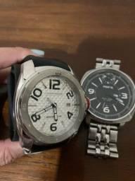Relógios marca Tommy e Fóssil usados