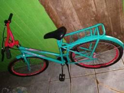 Bicicleta caloi media