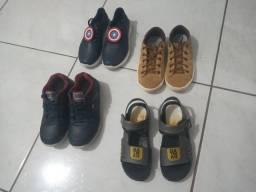 Kit calçados infantis!