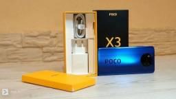 Poco X3 128 GB/6 GB Ram S/FNC Azul Índia  de 1790
