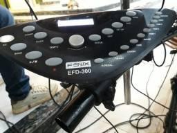 Bateria Eletrônica Fênix EFD 300 - top, completa e funcionando