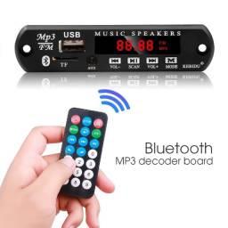 Placa Receiver Amplificador Bluetooth USB