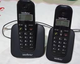 2 Telefones sem fio Intelbras - TS2510