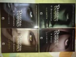 4 livros box diaro de vampiros