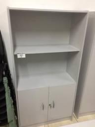 Armário estante cinza novo