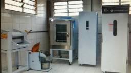 Maquinário de padaria completo