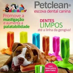 Petclean Escova Dental Canina