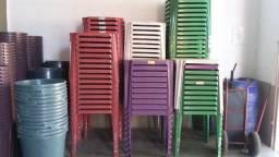 Jogo de cadeira e mesa