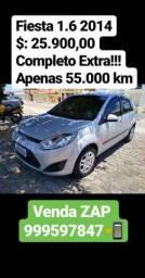 Fiesta 1.6 2014 Carro extra!!! Contato para venda * - 2014