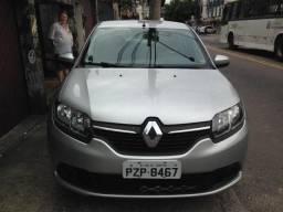 Renault sandero prata Expression 1.0 12V 5P em perfeito estado - 2018