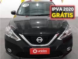 Nissan Sentra 2.0 sv 16v flexstart 4p automático - 2019