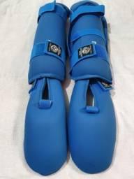 Protetor de canela e pés NOVO