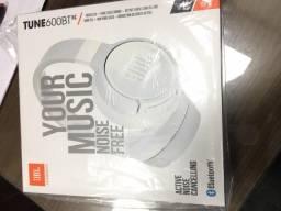 Headphone JBL Tune 600 BT NC, Bluetooth, Branco