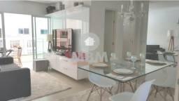 Vendo apartamento no Eusébio com 76 m² e 3 suítes, condomínio com lazer. 235.000,00